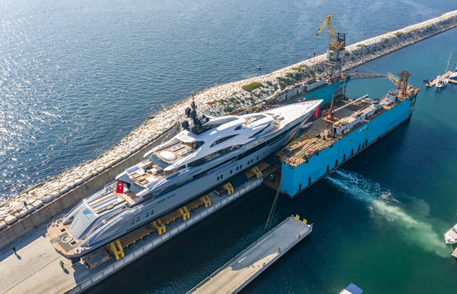 turkey's-largest-yacht-launched!